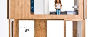 Modern Home for Barbie That Seems IKEA-Inspired by Miniio