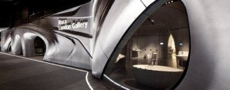 Futuristic Roca London Gallery by Zaha Hadid Architects