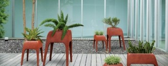 Plants Can Get Tired Too: Safari Planters by Kenneth Cobonpue
