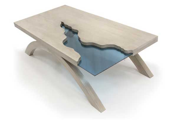 Intriguing Grand Canyon Table by Amit Apel Design