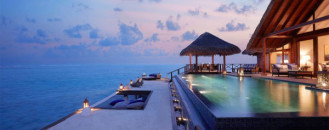 Perfect Relaxation Setting: Taj Exotica Resort and Spa Maldives