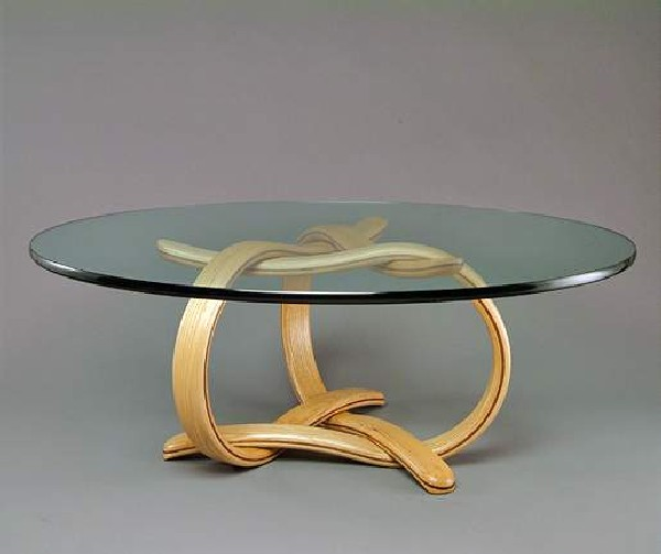 Glass Coffee Tables At Furniture Village: Sculpture Under Glass: Original Coffee Tables By Larry And