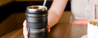 Freshome Giveaway: Win a Camera Lens Mug from Photojojo!