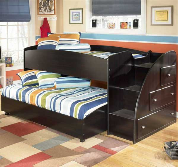 Space Saving Bunk Bed: 30 Fresh Space-Saving Bunk Beds Ideas For Your Home