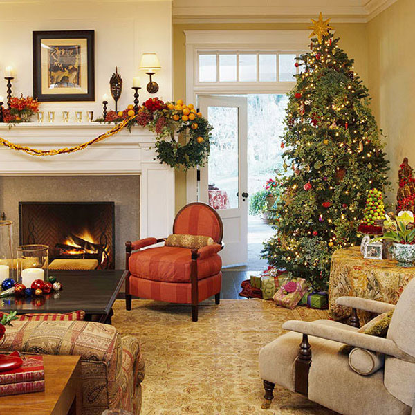33 christmas decorations ideas bringing the christmas spirit into rh freshome com christmas decorated rooms christmas decorated room escape game