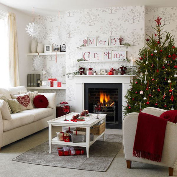 33 Christmas Decorations Ideas Bringing The Christmas Spirit ... on design ideas for living rooms, bookcases for living rooms, rugs for living rooms, colors for living rooms, lighting for living rooms, curtains for living rooms, paint for living rooms, decorating small space living room, window treatments for living rooms, painting ideas for living rooms, remodeling ideas for living rooms, tips for living rooms, bedroom ideas for small rooms, accessories for living rooms, decorating on a budget, trends for living rooms, wallpaper for living rooms, flooring for living rooms, diy for living rooms, printables for living rooms,