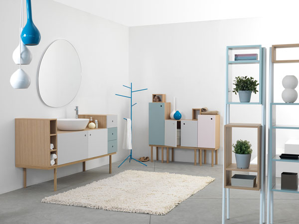 Multifunctional, Versatile Furniture for the Bathroom from Ex.t