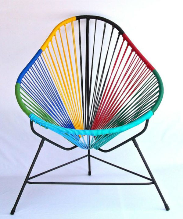 Colour League Trend - Acapulco chair (8 colours) by Ocho Workshop