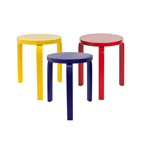 Colour League Trend - Artek stacking stool from The Lollipop Shoppe