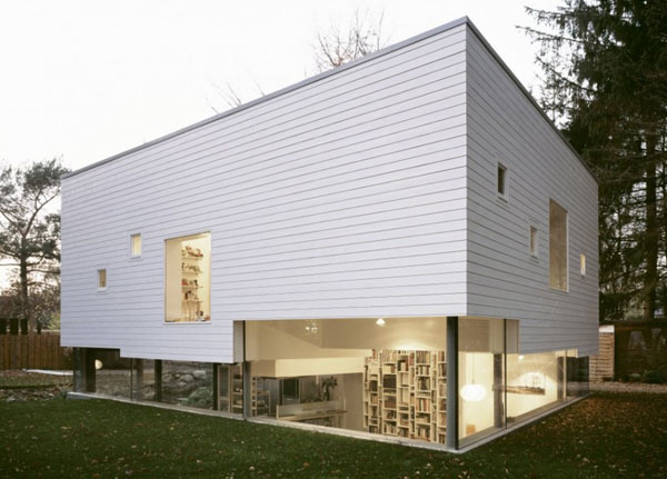 Prefabricated Modern Family Home With Inspiring Design Features in Germany