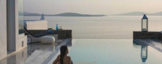 Exotic Resort in Greek God Apollo's Birthplace: Mykonos Grand Hotel