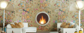 Ceramic Tiles That Look Like Wallpaper From Novoceram