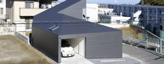 Contemporary Home Displaying a Minimalist Design in Japan