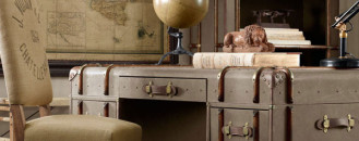 Refined Vintage Furniture Items Made Out of Old Trunks