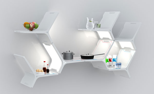 Elements Modular Kitchen by Matthew Gilbride Electrolux Design Lab 2010