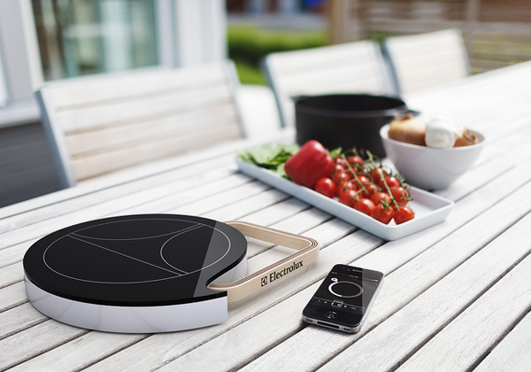 Mobile Induction Heat Plate by Tommi Moilanen  Electrolux Design Lab 2011