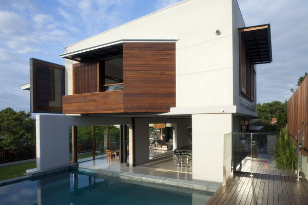 Family Home Displaying a Spectacular Design in Australia: Patane Residence