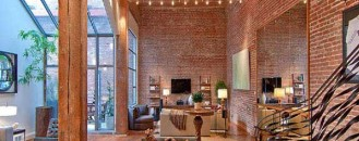 Exposed Brick and Timber Interiors Flooded By Light