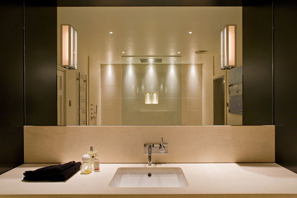 Bathroom lighting by John Cullen
