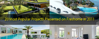 20 Most Popular Projects Presented on Freshome in 2011