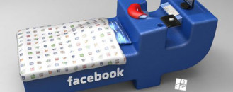 Facebook Addicts, Rejoice! FacebookBed Concept by DevianTom