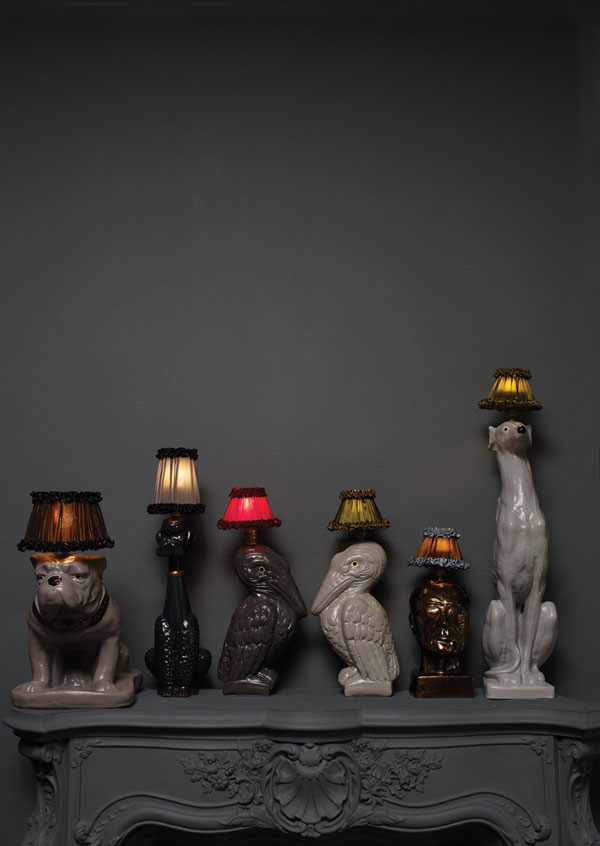 Animal Inspired Lamps By Atelier Abigail Ahern Freshome Com