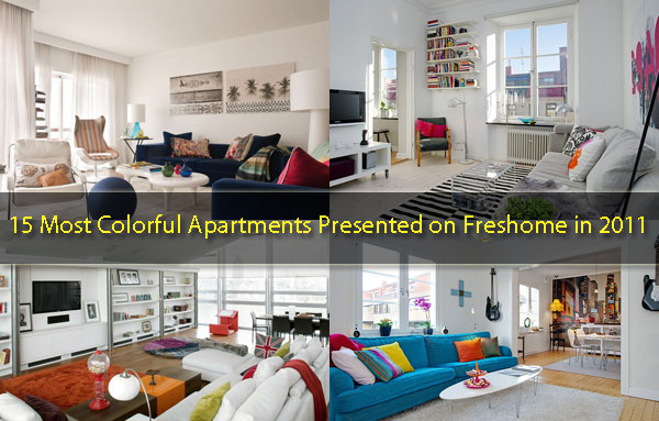 15 Most Colorful Apartments Presented on Freshome in 2011 ...
