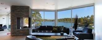 Atypical Scandinavian Villa in the Stockholm Archipelago
