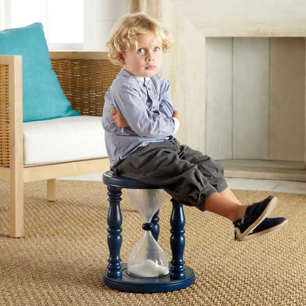 Five Minutes Time Out Timer Stool From Wisteria