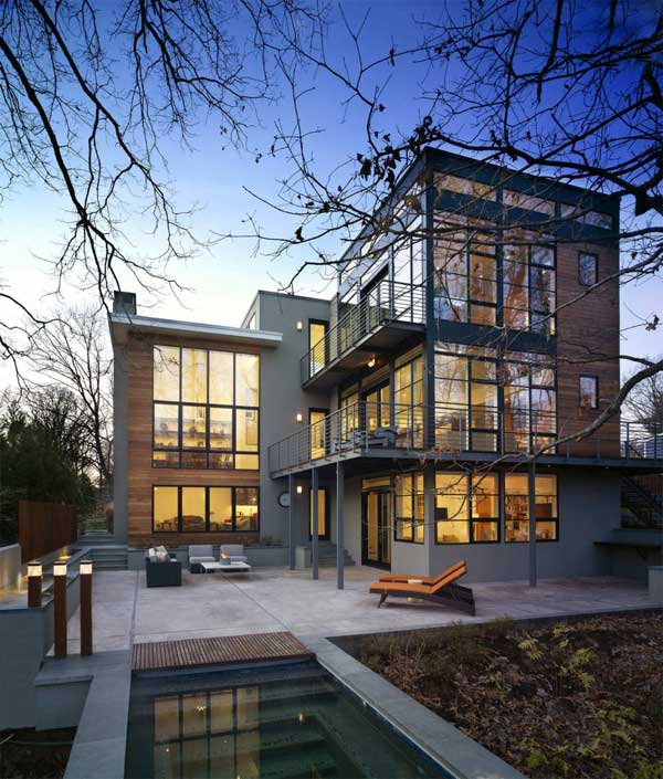 Revamped Lakefront Residence Defined by Unique Details