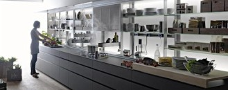 Innovative & Ergonomic Logica Kitchen System from Valcucine