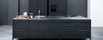 Modular Stainless Steel Kitchen from Vipp