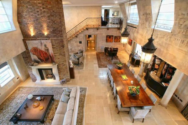 Imposing Duplex With Double Height Reception Room In