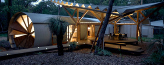 Sustainable Home with Unique Design Features Near the Great Barrier Reef
