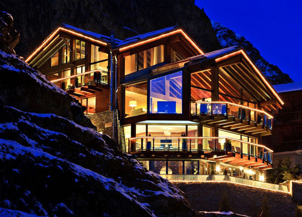 Spectacular Chalet in Switzerland Watching Over the Iconic Matterhorn