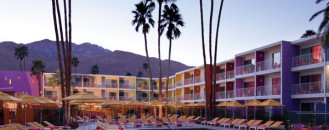 Reflecting the Colorful Spirit of Southwest USA: Saguaro Palm Springs Hotel