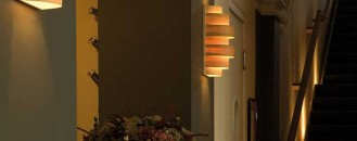 Unique Lighting In Wood Veneer Built In Belgium