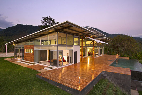 Sustainable Home In Costa Rica Making The Most Of Its Scenic