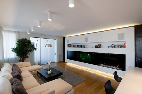 Highly Modern Apartment Design In Russia By Alexey Nikolashina - Modern-apartment-design