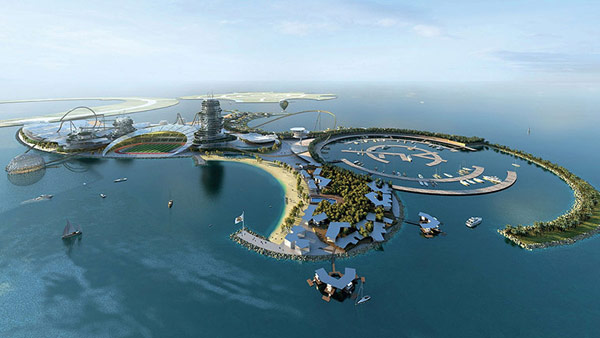 Ultimate Sports&Leisure Center: Real Madrid Resort Island in the Emirates
