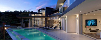Massive Doheny Residence with Opulent Displays in the Hollywood Hills