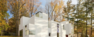 Inspired by the Structure of Mineral Rock Salt: NaCl House