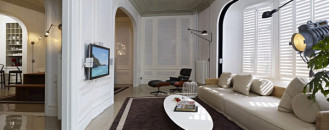 Contemporary Apartment With a Touch of Turkish Tradition by Autoban