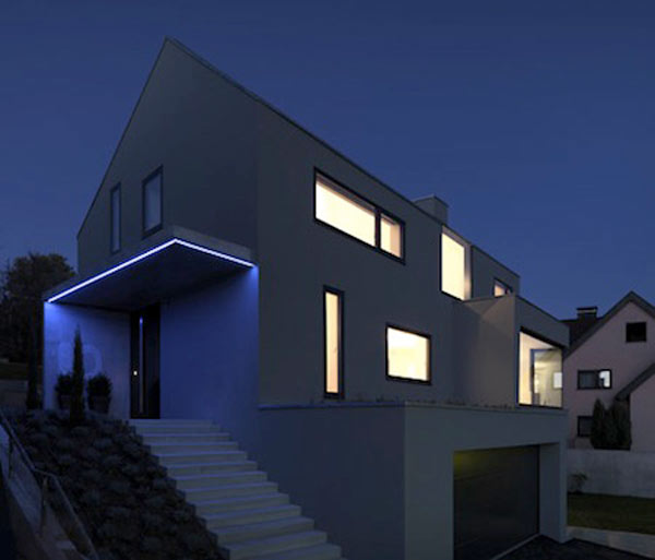 German Dream Home Focusing On Use Of Natural Light