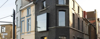 Impressive Restoration of a 19th Century Corner Building in Ghent, Belgium