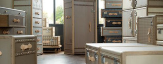 Emmanuelle Legavre's Vintage Luggage Furniture