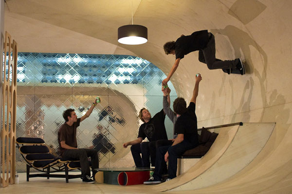 Passion, Profession And Fun Shaping The Skateboard House
