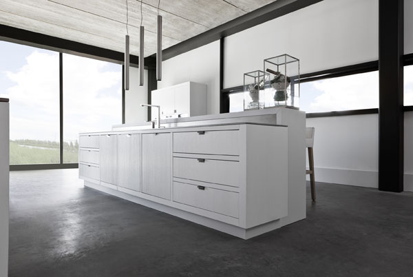 Minimal Kitchens by Piet Boon for Warendorf