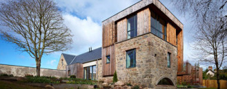 Elegant and Spacious Home Paying Tribute to a Former Mill in Scottland