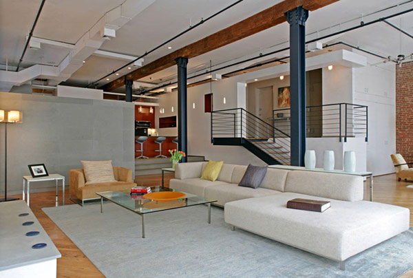 Contemporary Renovation Of A Ious Apartment In New York Jw G Loft